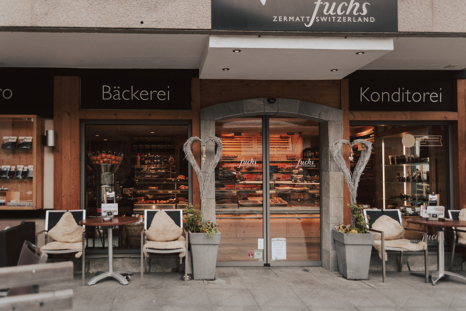 Fuchs Bistro and Bakery, Zermatt