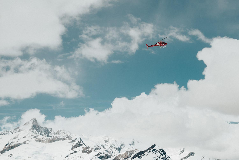 Saker att göra i Zermatt |Helikoptertur över Matterhorn