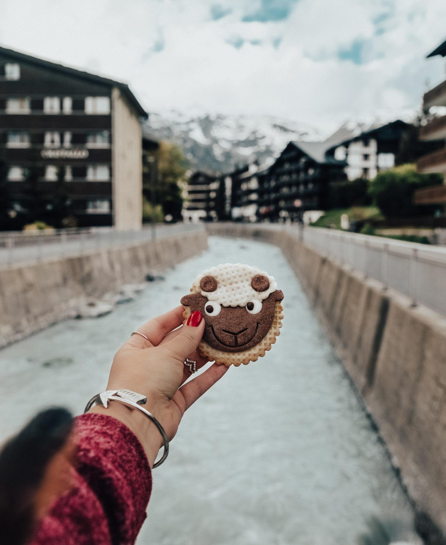 Instagramvänlig kaka i Zermatt