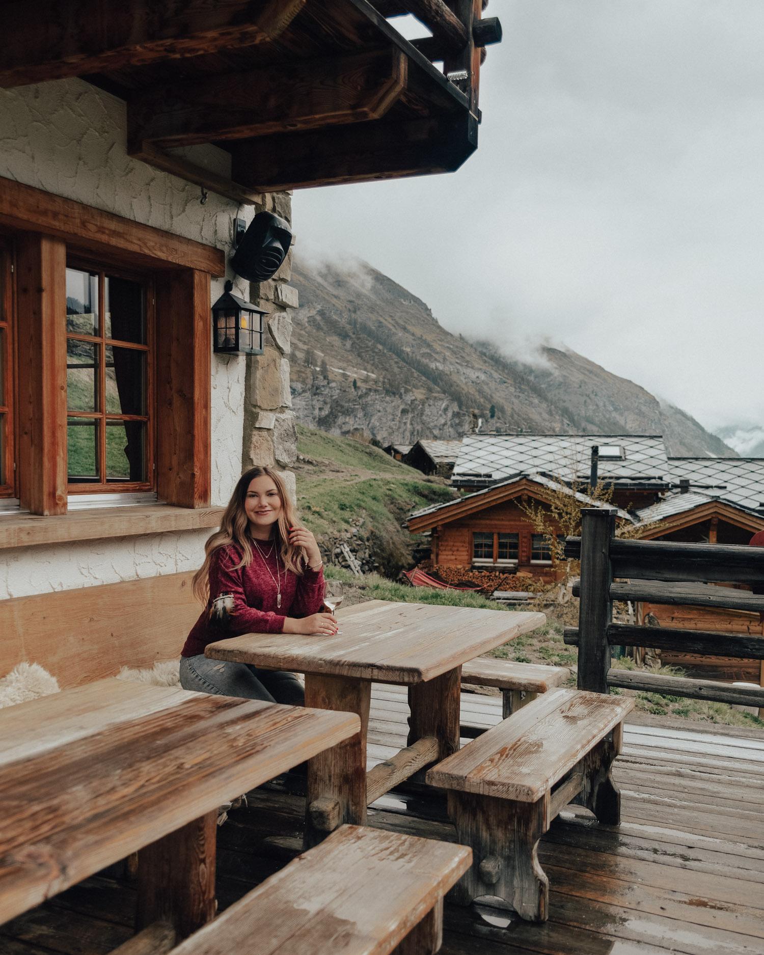 Saker att göra i Zermatt, Schweiz / Les Marmottes Restaurant