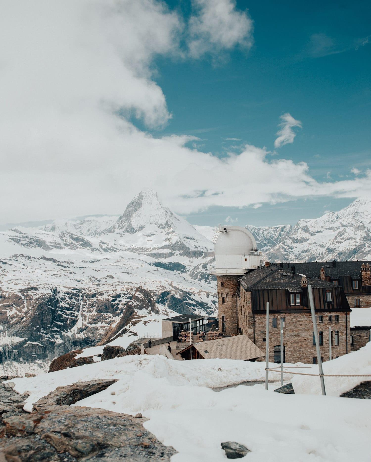 Gornergrat, Zermatt, Schweiz