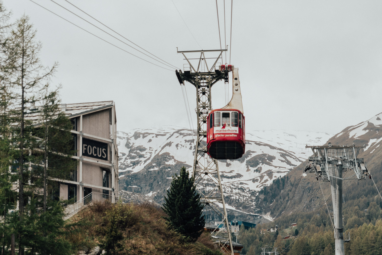 Linbana i Zermatt |Matterhorn Glacier Paradise