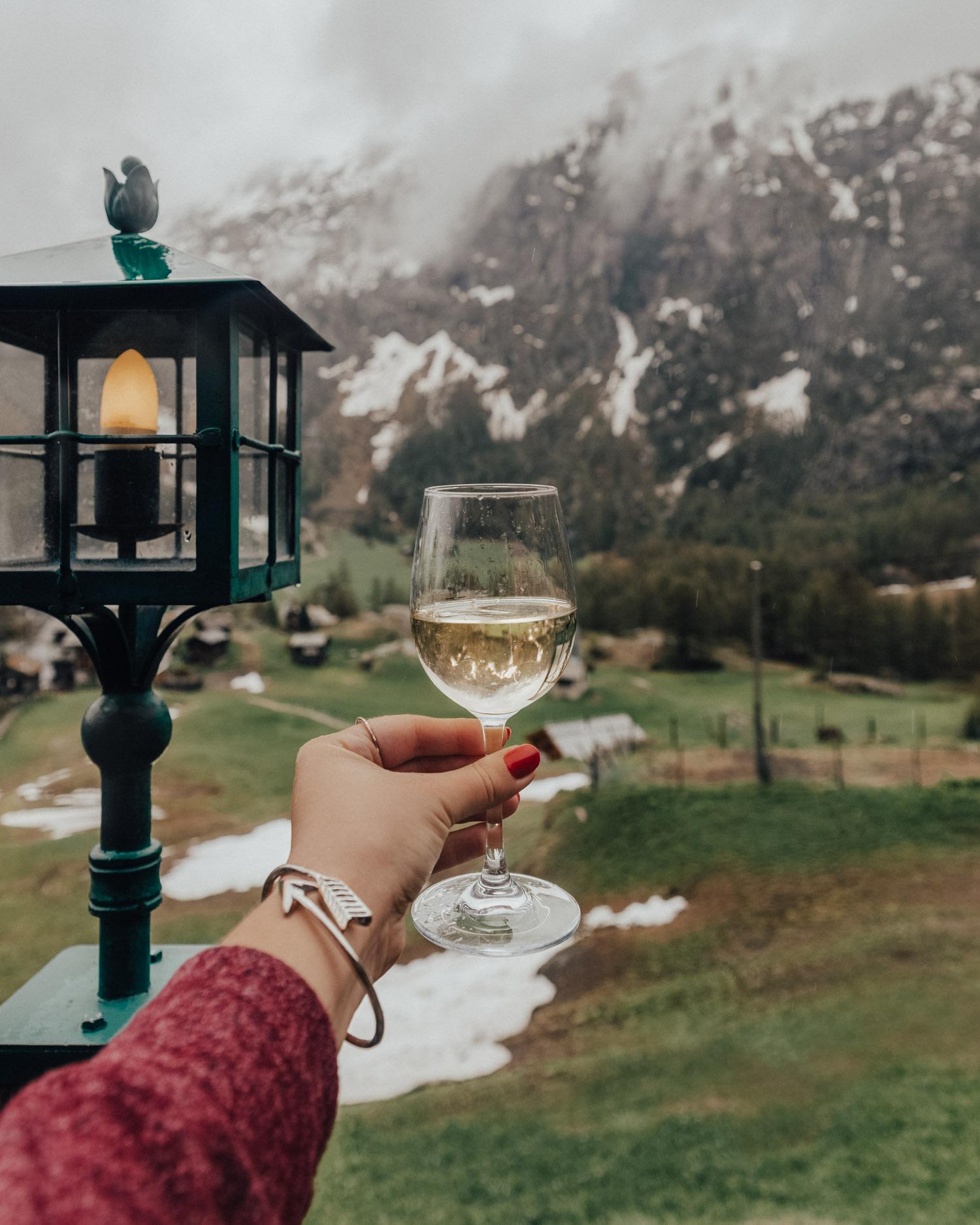 Saker att göra i Zermatt | Luncha på Les Marmottes Restaurant