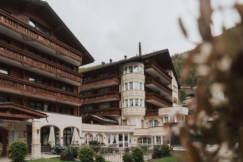 Wellness Hotel La Ginabelle i Zermatt, Schweiz