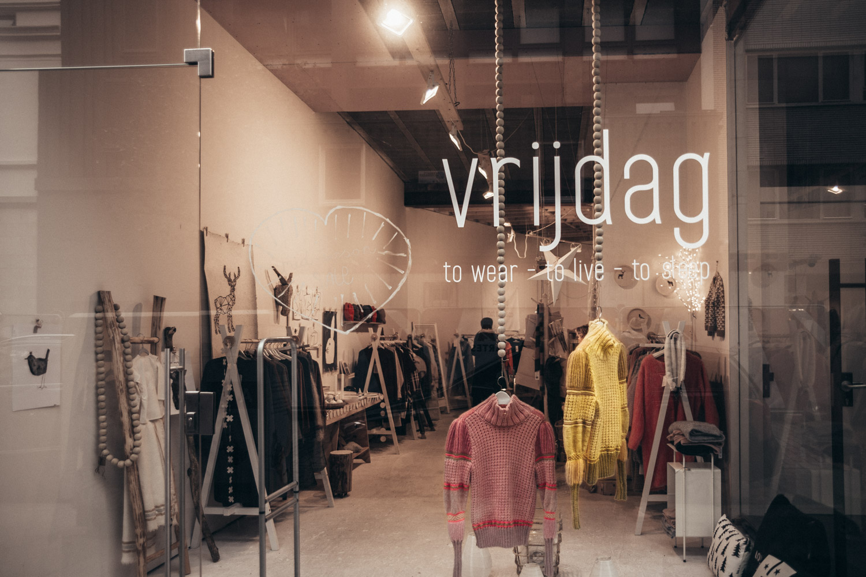 Vrijdag, Shopping i Antwerpen