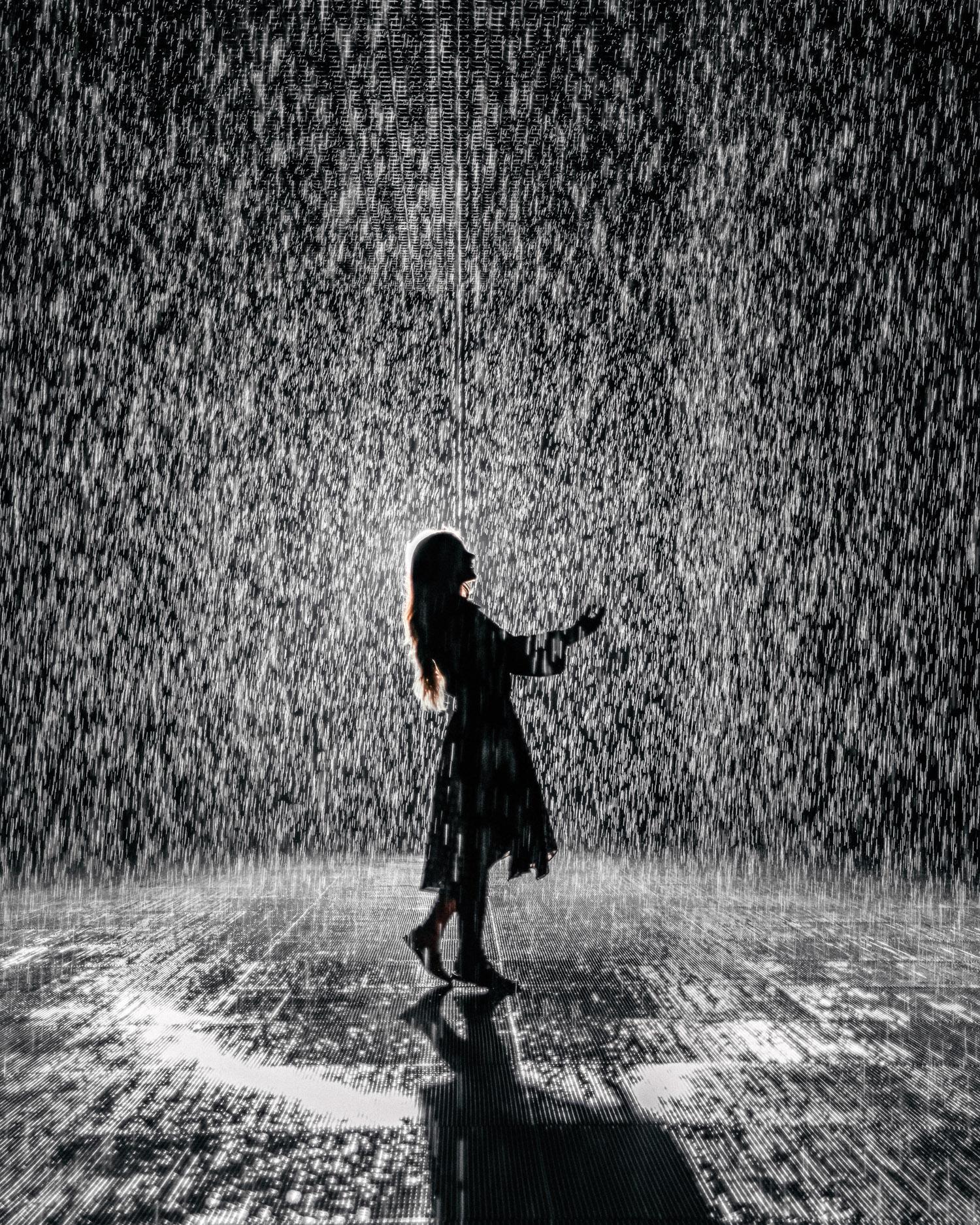 Saker att göra i Sharjah - Besök Rain Room av Sharjah Art Foundation
