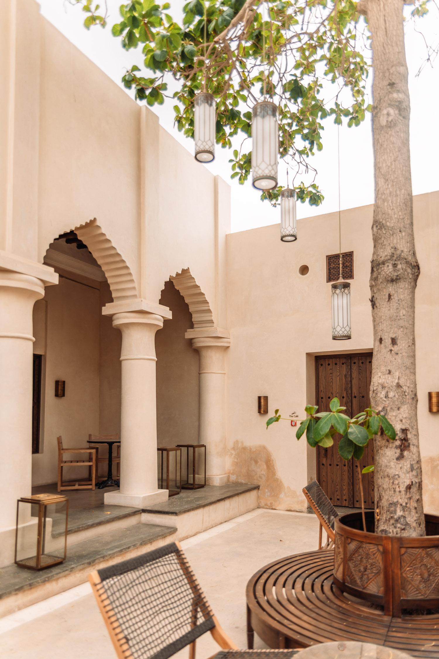 Caféet på Al Bait Sharjah