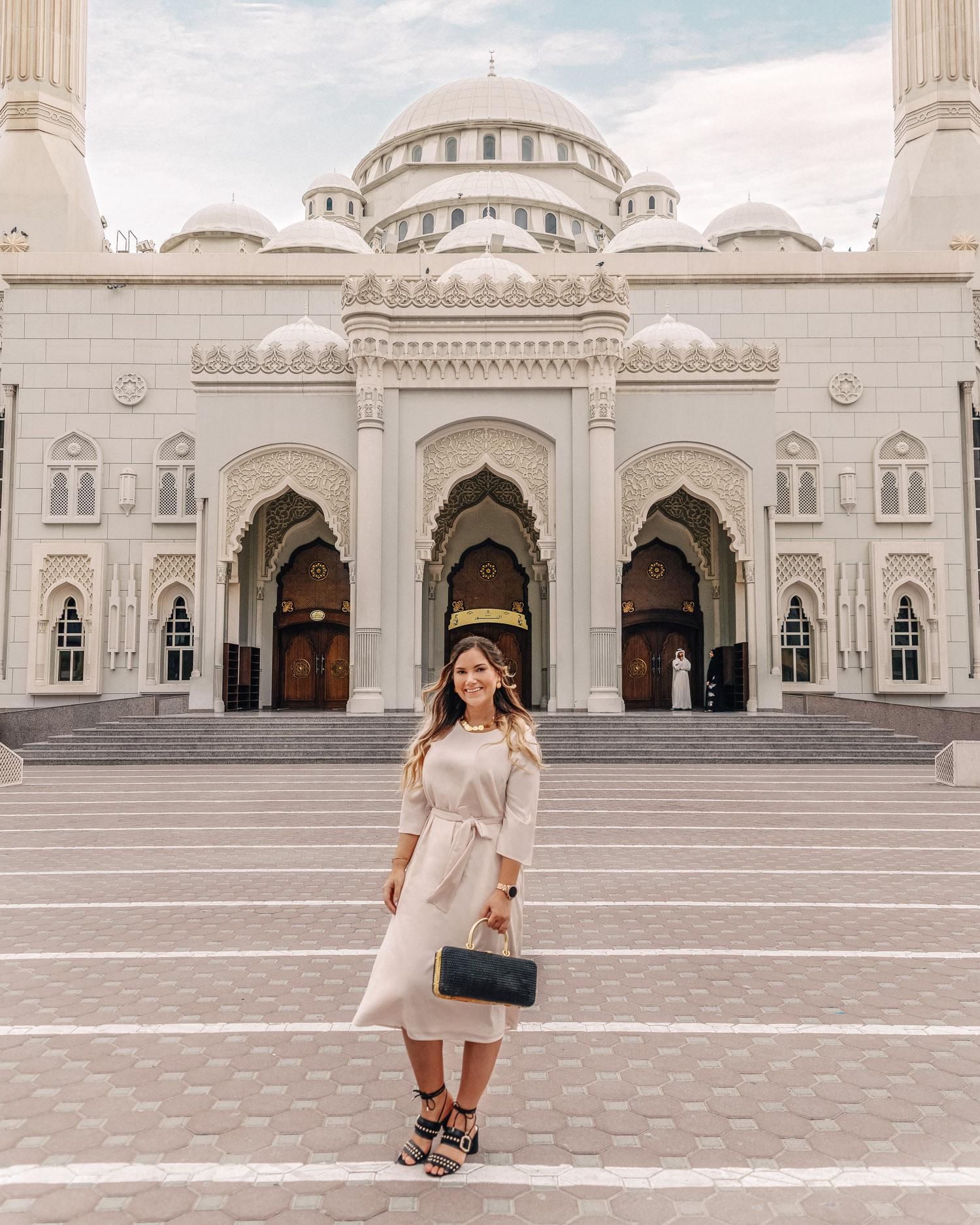 Al Noor Mosque |Saker att göra i Sharjah, UAE