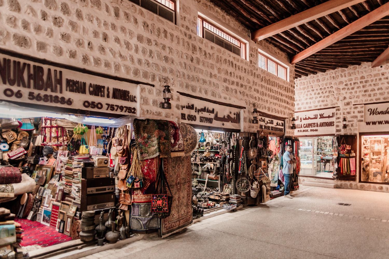 Marknadsplatsen Souq Al Arsah