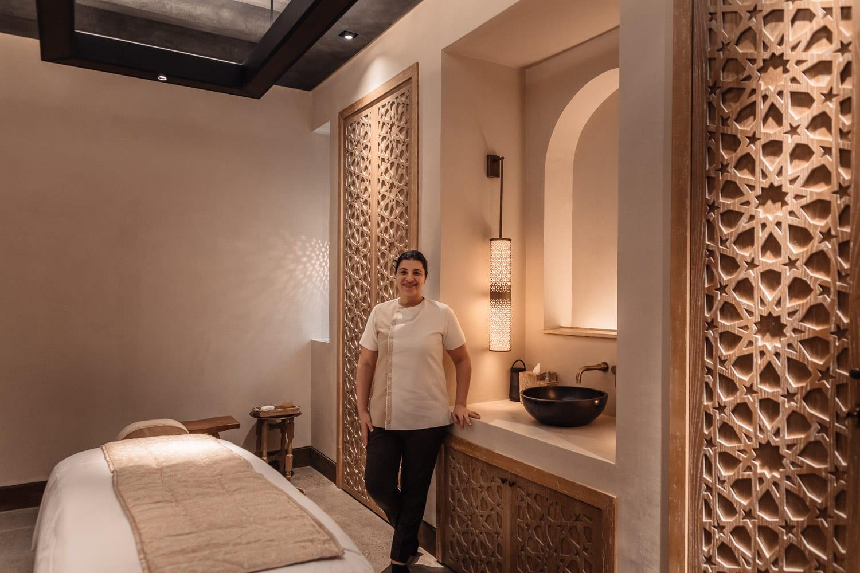 Massage på Al Baits kvinnliga spa