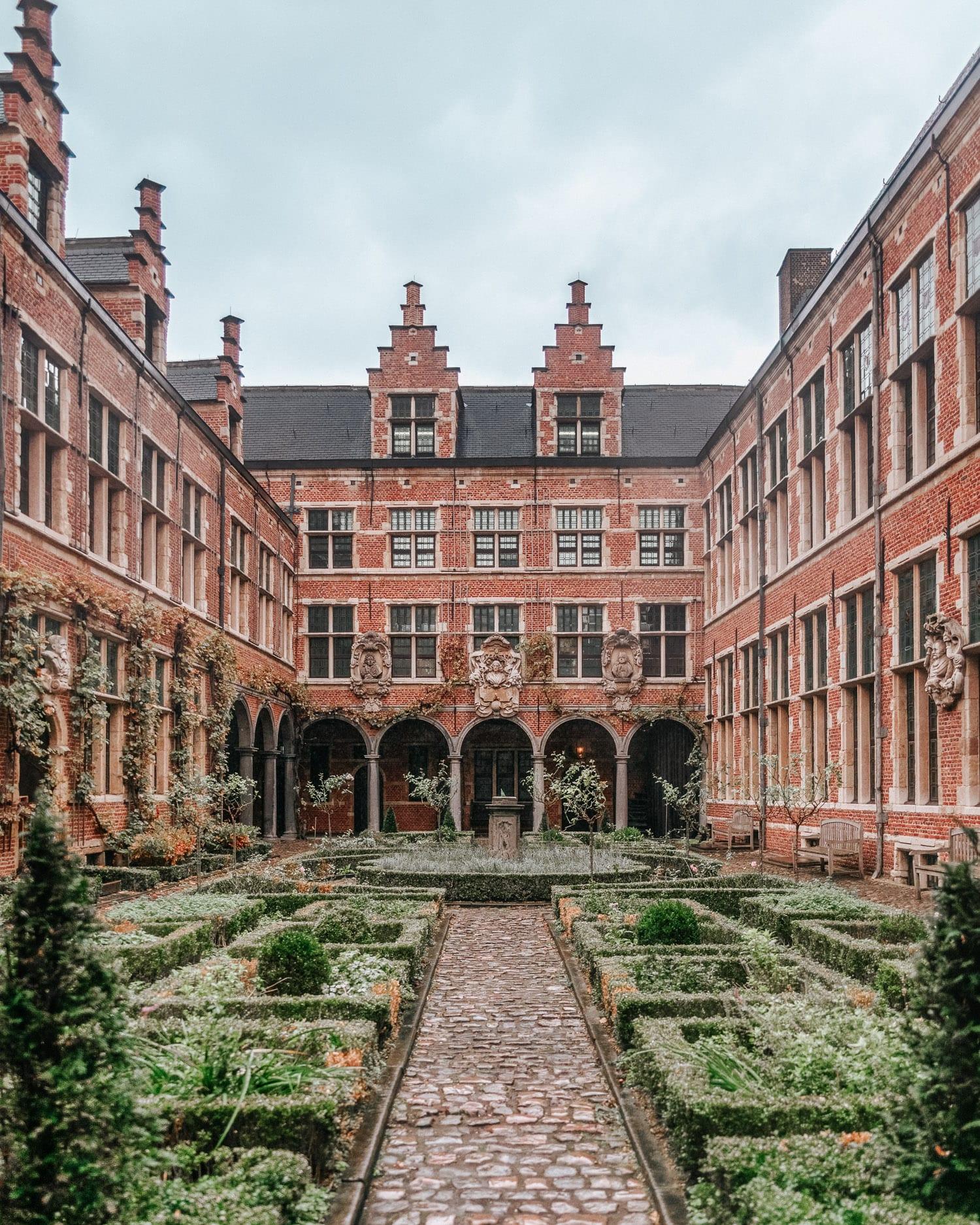 Plantin-Moretus Museum i Antwerpen, Belgien