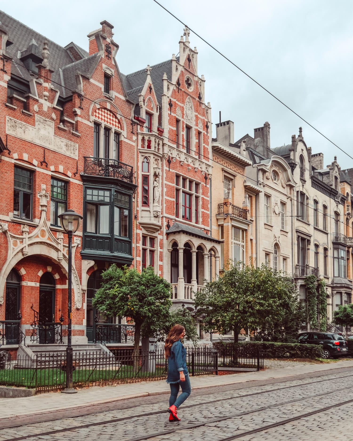 Besök Zurenborg |Saker att göra i Antwerpen, Belgien