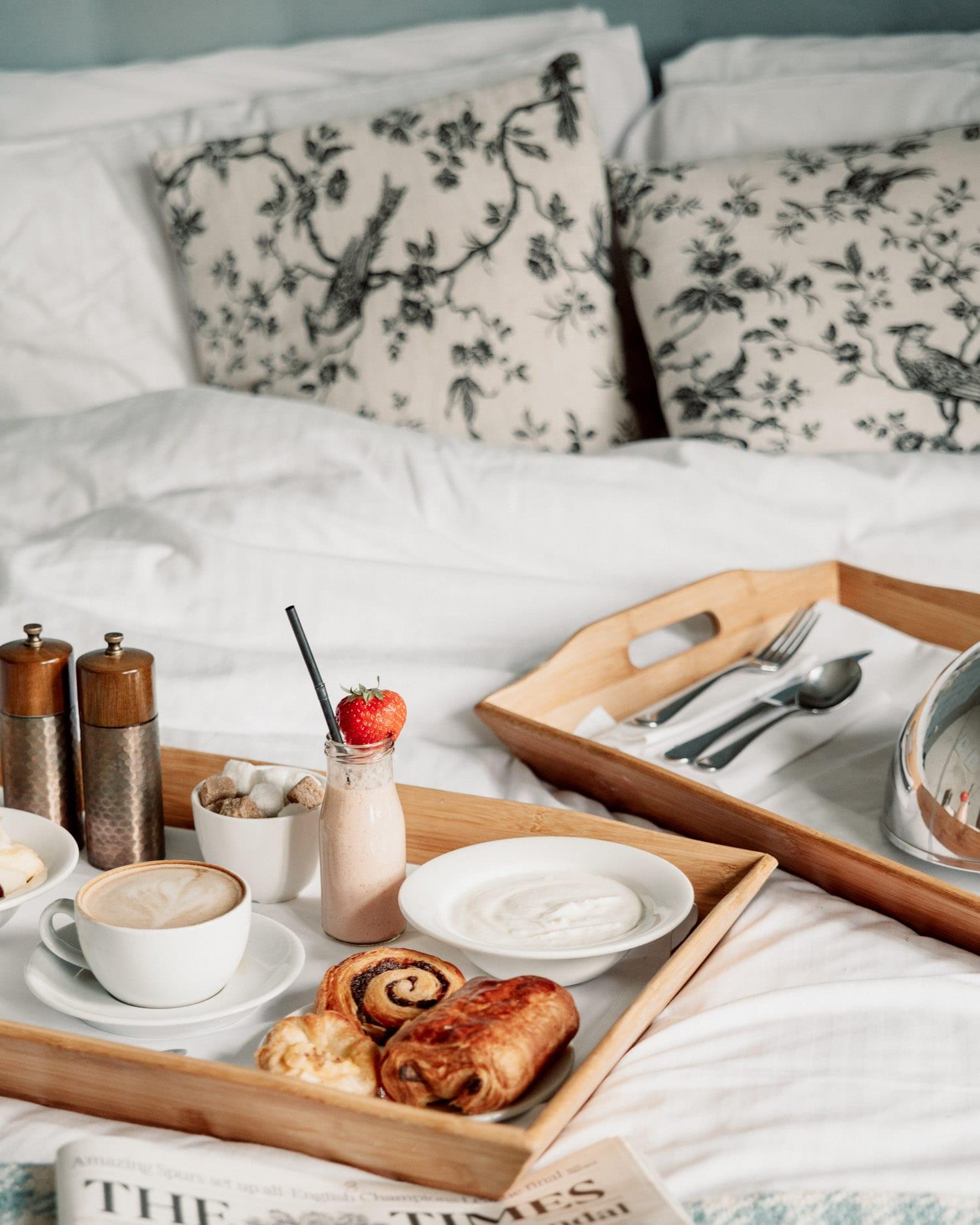 Frukost på The Alverton Hotel i Cornwall