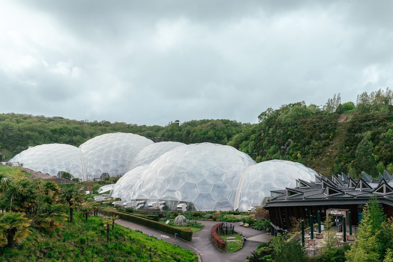 Eden Project   Sevärdhet i Cornwall, England, Storbritannien