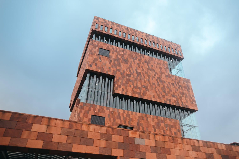 MAS Museum i Antwerpen, Belgien