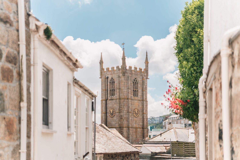 St. Ives kyrka, Cornwall, England, Storbritannien
