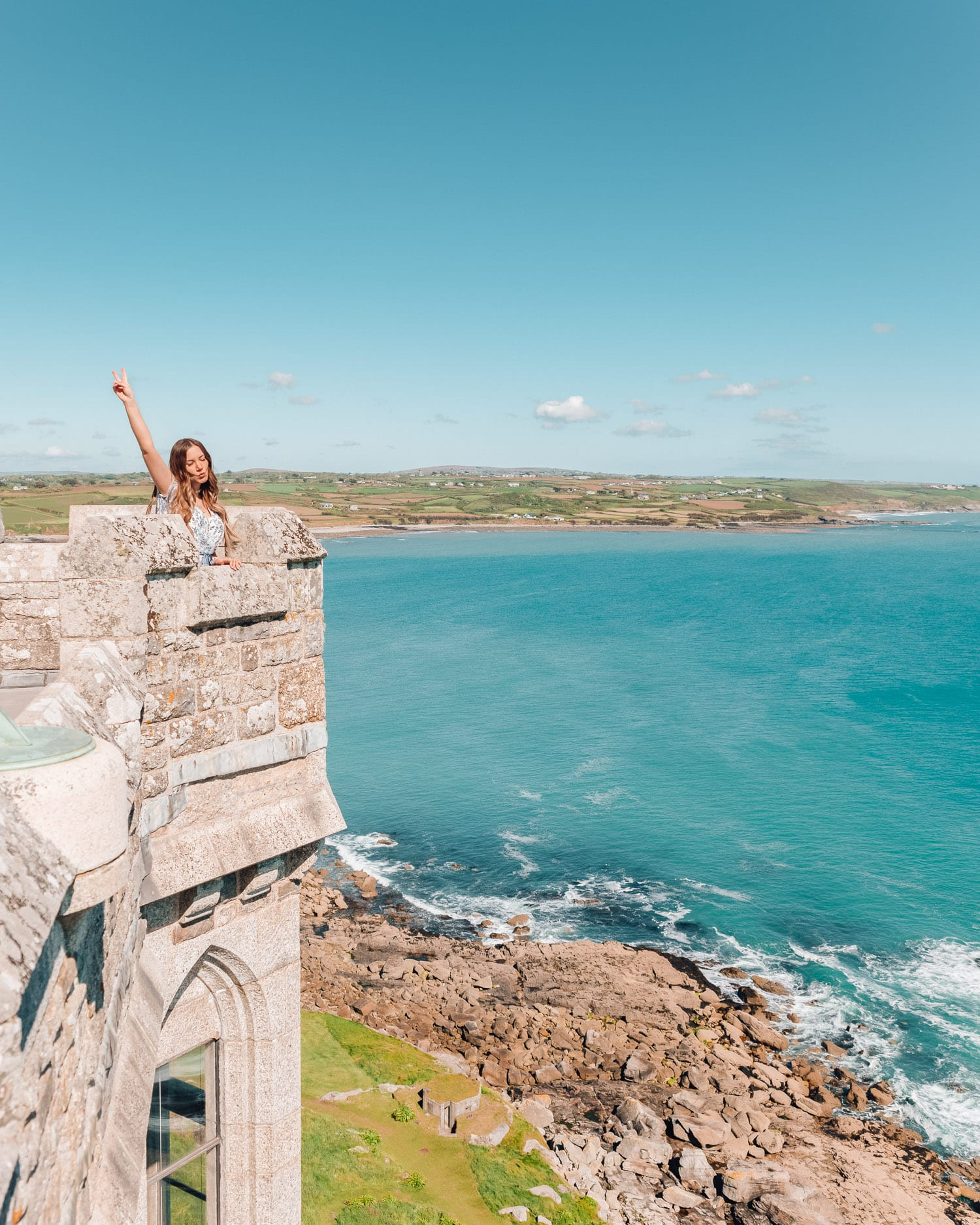 St. Michael's Mount  Castle in Cornwall, England, UK