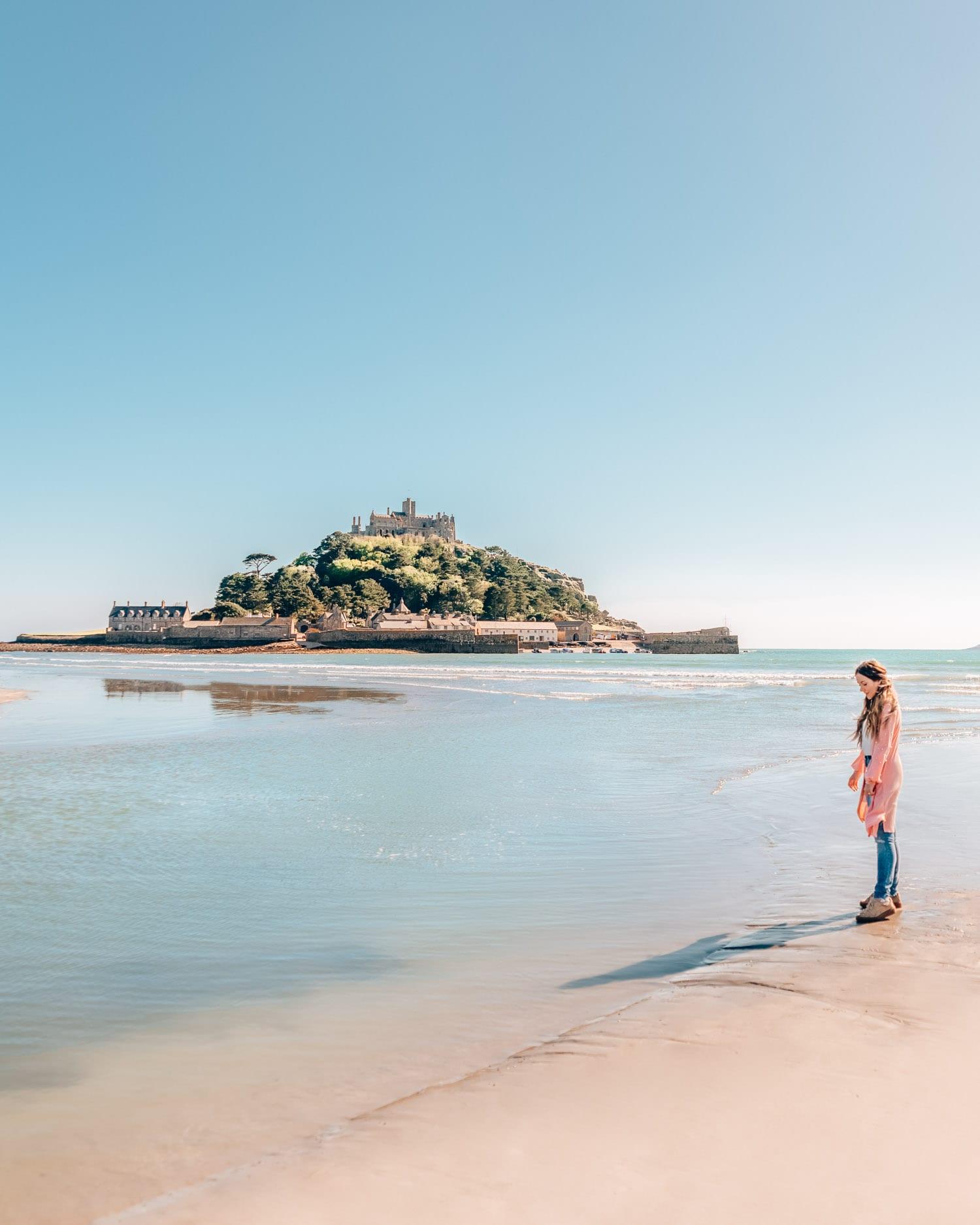 St. Michael's Mount   Fantastiska Instagramplatser i Cornwall, England