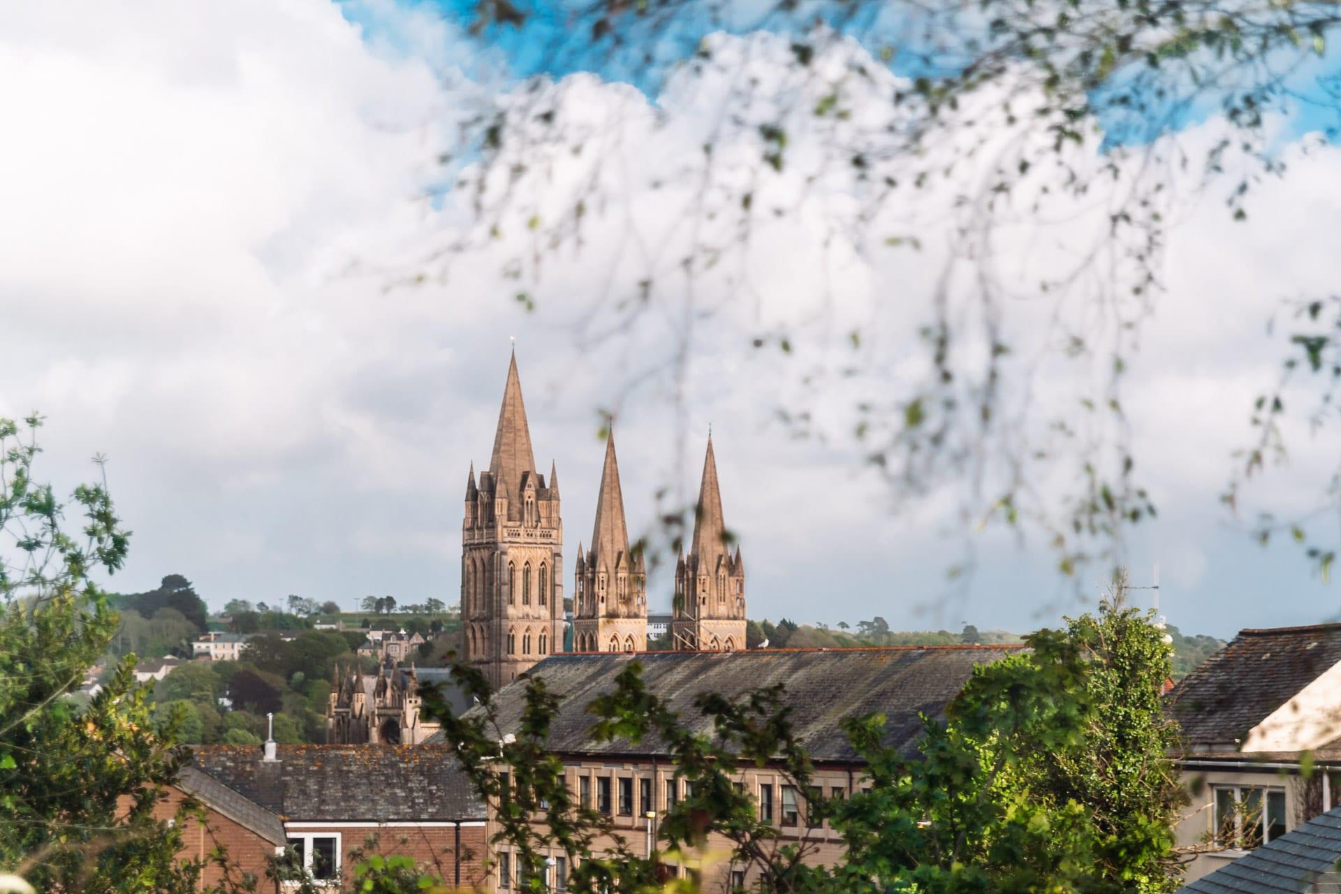 Truros katedral i Cornwall