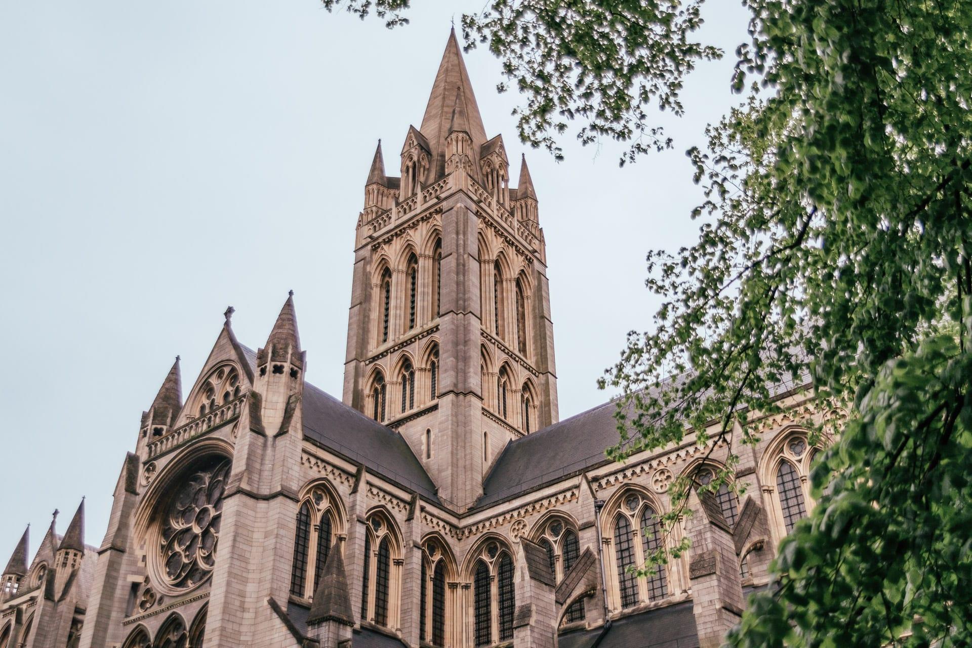 Truros katedral i Cornwall, England, Storbritannien