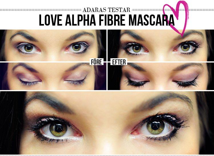 love alpha mascara how to use