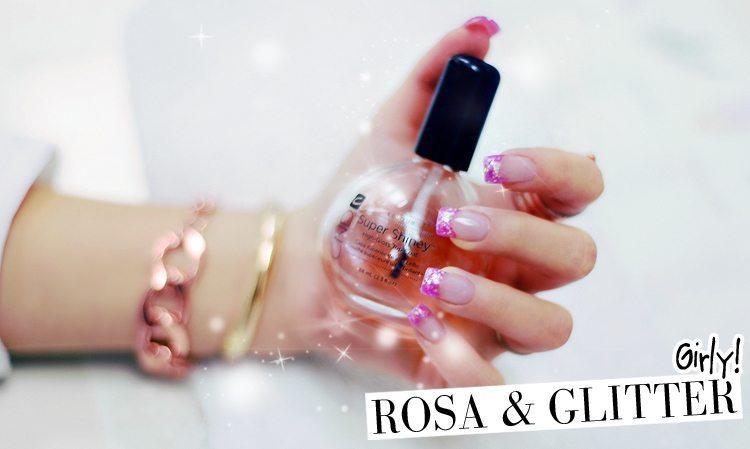 rosa-akrylnaglar