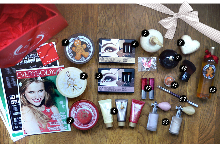 body shop julkalender