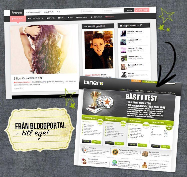 blogga-eget-webbhotell