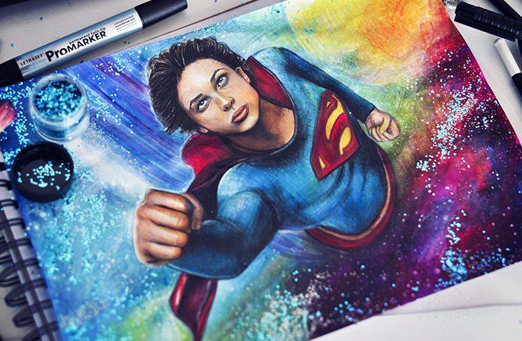 Drawing_Tom_Welling_Superman