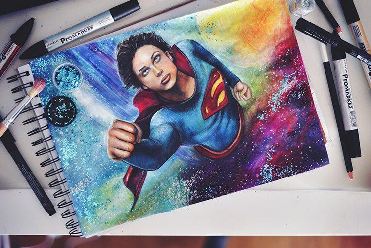 drawing-tom-welling-superman