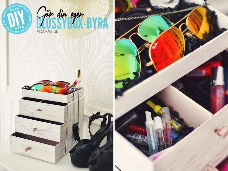 Glossybox-byrå - DIY!