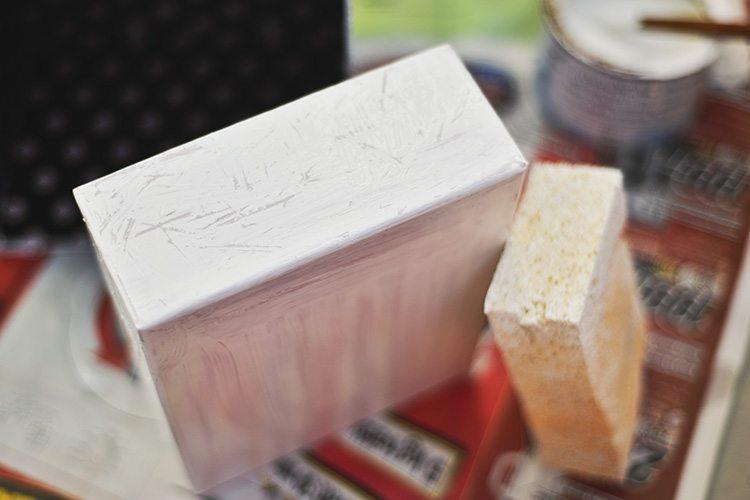 DIY: Glossybox-byrå - Shabby chic-style