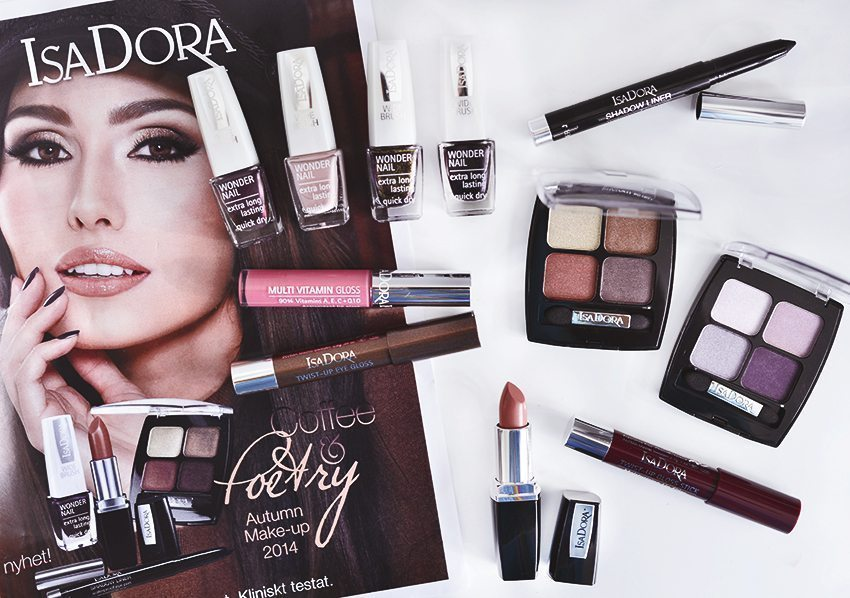 IsaDora Coffee & Poetry Autumn Makeup 2014