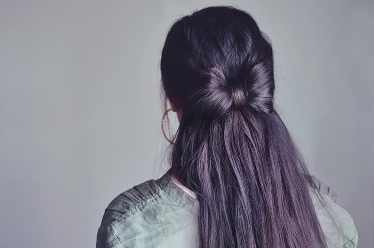 rosett till håret