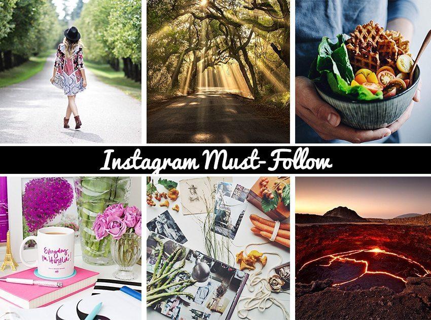 Instagramkonton att följa