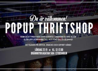 Popup Thriftshop
