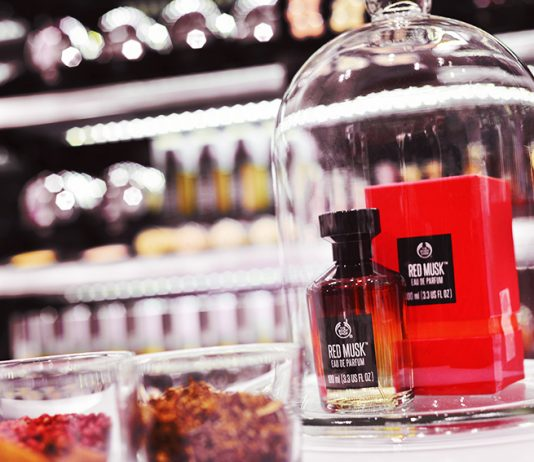 Red Musk The Body Shop