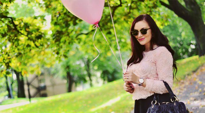 Roses jumper pink