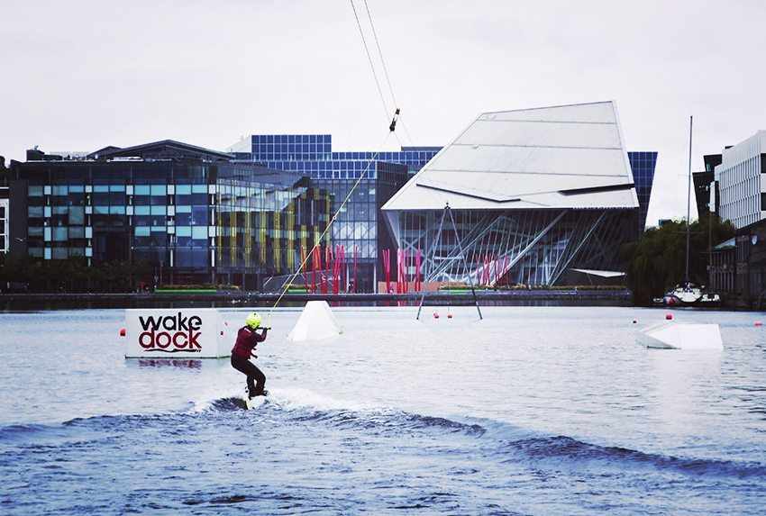 Wakeboard - Dublin's Dockland