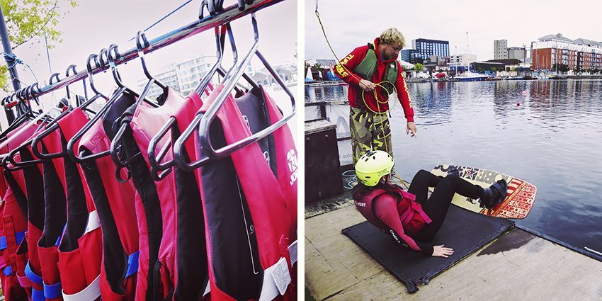 Wakeboard - Dublin's Docklands
