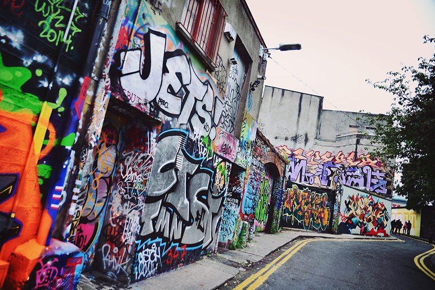 Graffiti i Dublin