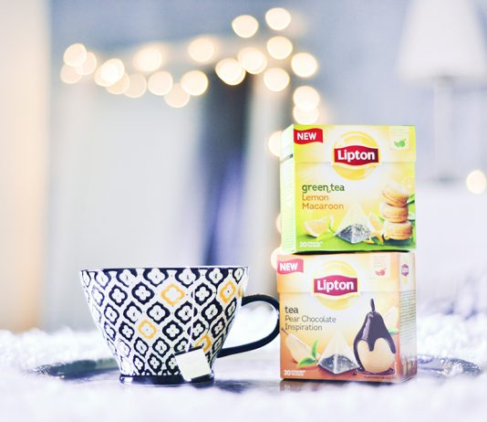Lipton - Lemon Macaron & Pear Chocolate Inspiration