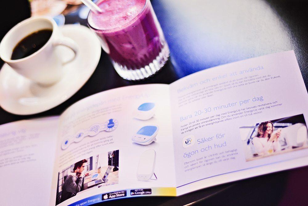 Ljuscafé Foam - Philips EnergyUp