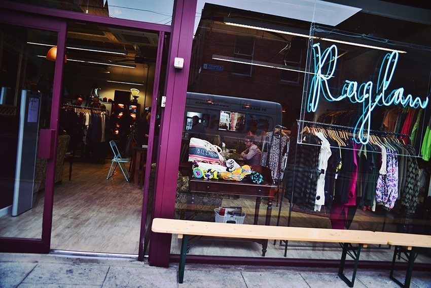Raglan Clothes Store + Coffe Bar