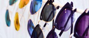 Organisera solglasögon