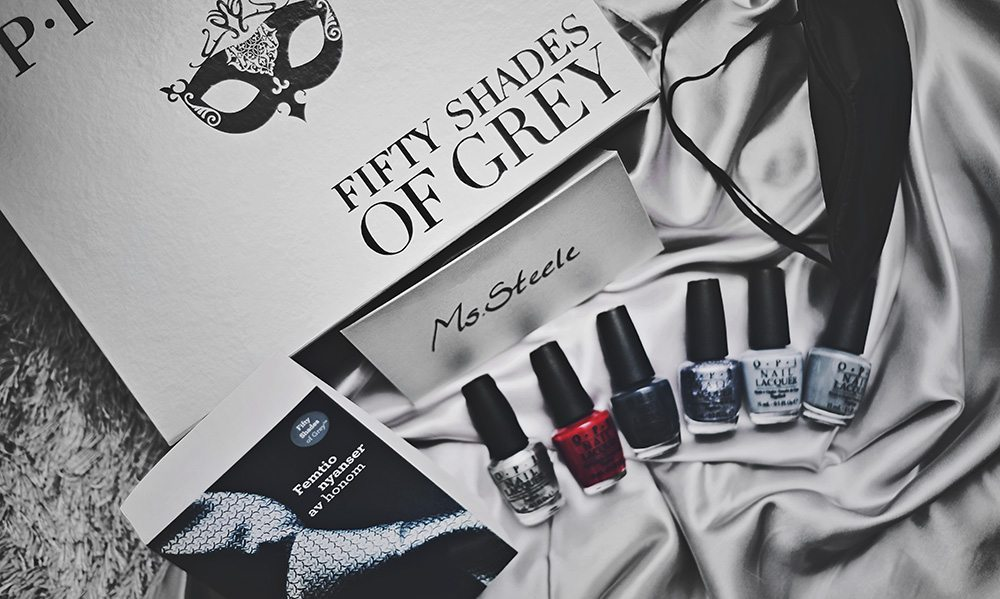 OPI Fifty Shades of Grey