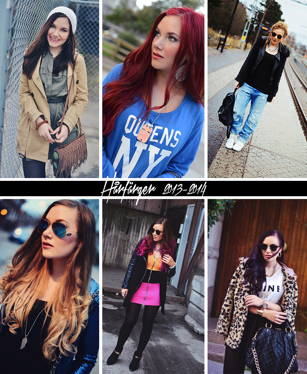 Adaras hårfärger 2013-2014