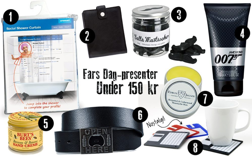 Tips: Fars Dag-presenter under 150 kronor