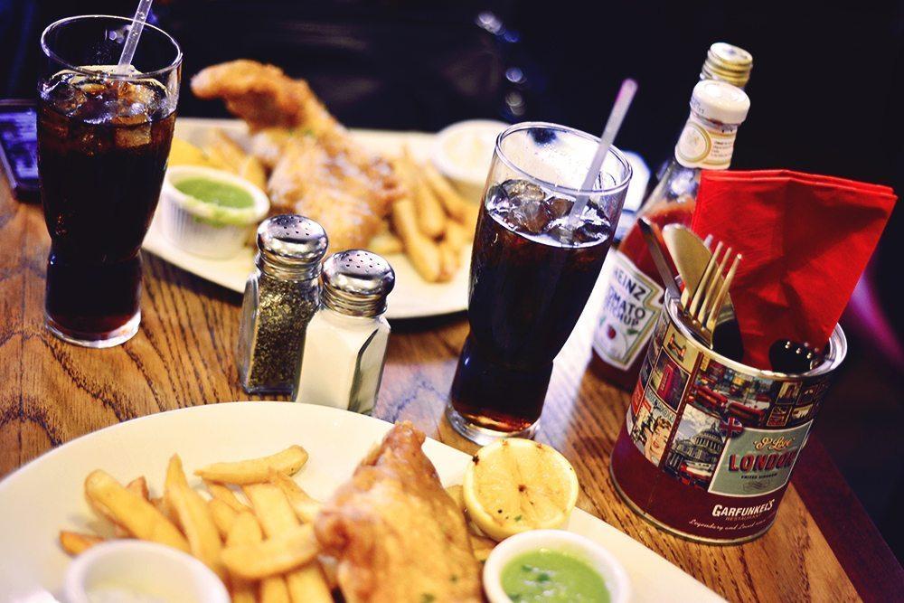 Fish & Chips på Garfunkel's