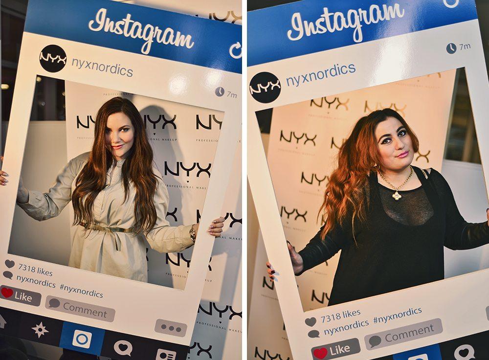 NYX Cosmetics event